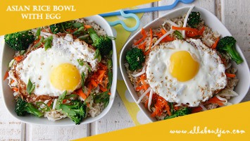 Asian Rice Bowl with Egg